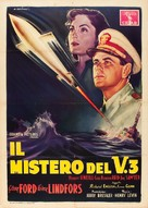 The Flying Missile - Italian Movie Poster (xs thumbnail)