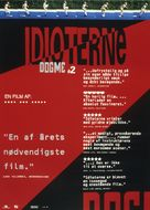 Idioterne - Danish Movie Poster (xs thumbnail)