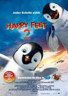 Happy Feet Two - German Movie Poster (xs thumbnail)
