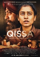 Qissa: The Tale of a Lonely Ghost - German Movie Poster (xs thumbnail)
