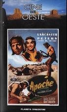 Apache - Spanish VHS movie cover (xs thumbnail)