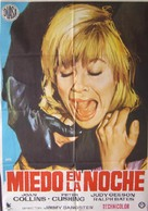 Fear in the Night - Spanish Movie Poster (xs thumbnail)