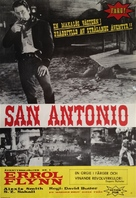 San Antonio - Swedish Movie Poster (xs thumbnail)