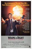 Wrong Is Right - Movie Poster (xs thumbnail)