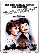 Coup de foudre - French Movie Poster (xs thumbnail)