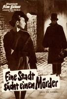 Jack the Ripper - German poster (xs thumbnail)