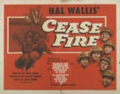 Cease Fire! - Movie Poster (xs thumbnail)