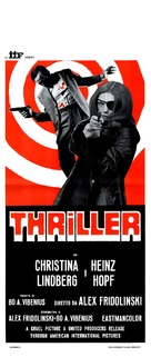 Thriller - en grym film - Italian Movie Poster (xs thumbnail)