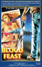 Blood Feast - French VHS movie cover (xs thumbnail)