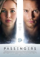 Passengers - Finnish Movie Poster (xs thumbnail)