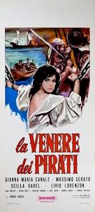 La Venere dei pirati - Italian Movie Poster (xs thumbnail)