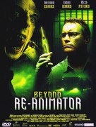 Beyond Re-Animator - French Movie Cover (xs thumbnail)