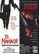 El mariachi - Spanish DVD cover (xs thumbnail)