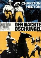 The Naked Jungle - German Movie Poster (xs thumbnail)