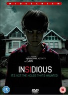 Insidious - British DVD movie cover (xs thumbnail)