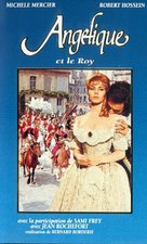 Angélique et le roy - French VHS cover (xs thumbnail)