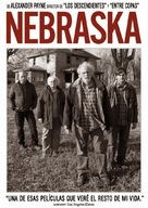 Nebraska - Spanish DVD movie cover (xs thumbnail)