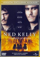 Ned Kelly - Spanish DVD movie cover (xs thumbnail)