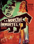 Caltiki - il mostro immortale - French Movie Poster (xs thumbnail)