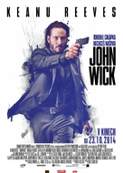 John Wick - Czech Movie Poster (xs thumbnail)