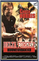 Delta Force 2 - Finnish VHS cover (xs thumbnail)