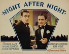 Night After Night - Movie Poster (xs thumbnail)