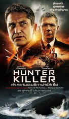 Hunter Killer - Thai Movie Poster (xs thumbnail)