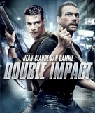 Double Impact - Blu-Ray cover (xs thumbnail)