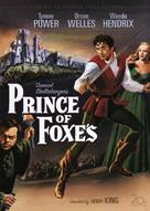 Prince of Foxes - DVD cover (xs thumbnail)