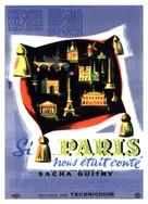 Si Paris nous ètait contè - French Movie Poster (xs thumbnail)
