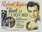A Yank at Oxford - Movie Poster (xs thumbnail)