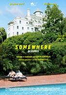 Somewhere - Portuguese Movie Poster (xs thumbnail)