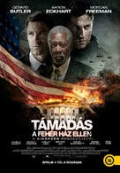 Olympus Has Fallen - Hungarian Movie Poster (xs thumbnail)