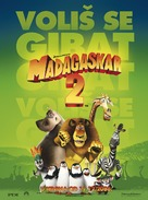 Madagascar: Escape 2 Africa - Croatian Movie Poster (xs thumbnail)