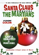 Santa Claus Conquers the Martians - Danish DVD cover (xs thumbnail)