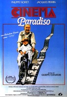 Nuovo cinema Paradiso - Spanish Movie Poster (xs thumbnail)