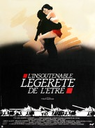 The Unbearable Lightness of Being - French Movie Poster (xs thumbnail)