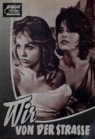 La notte brava - German Movie Poster (xs thumbnail)