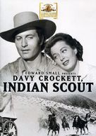Davy Crockett, Indian Scout - DVD cover (xs thumbnail)