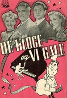 De kloge og vi gale - Danish Movie Poster (xs thumbnail)