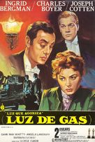 Gaslight - Spanish Movie Poster (xs thumbnail)