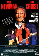 The Color of Money - Spanish Movie Poster (xs thumbnail)