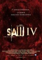 Saw IV - Italian Movie Poster (xs thumbnail)