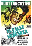 Vengeance Valley - Spanish Movie Poster (xs thumbnail)