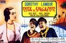 Road to Singapore - Spanish Movie Poster (xs thumbnail)