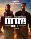 Bad Boys for Life - French Movie Poster (xs thumbnail)