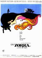 The Fox - Spanish Movie Poster (xs thumbnail)