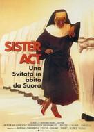 Sister Act - Italian Movie Poster (xs thumbnail)