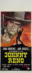 Johnny Reno - Italian Movie Poster (xs thumbnail)