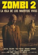 Zombi 2 - Mexican Movie Poster (xs thumbnail)